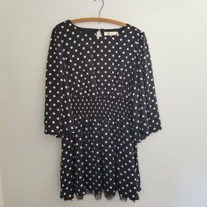 Anthropologie | Aryeh polka dot dress size large